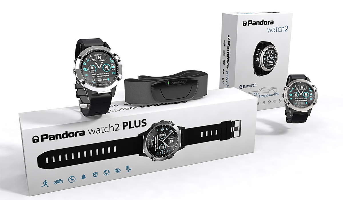 Часы Pandora Watch 2 Plus